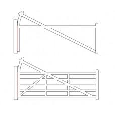 Five-Bar Gate