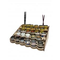 Modular Paint Rack 35mm Straight